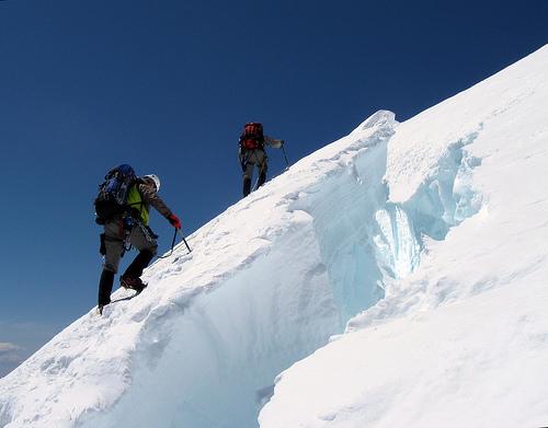 Across the ice bridge: Simonov's flickr