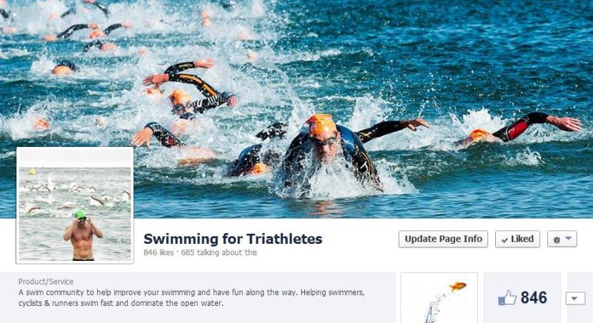 swimming for triathletes facebook page for swimming tips workouts and training plans